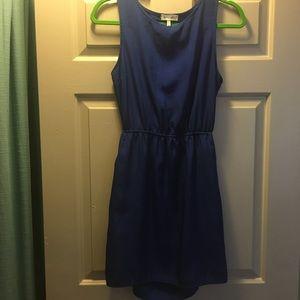 Cut-out blue dress size medium